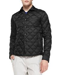 Moncler Frederic Diamond Quilted Jacket in Black for Men   Lyst & Gallery Adamdwight.com
