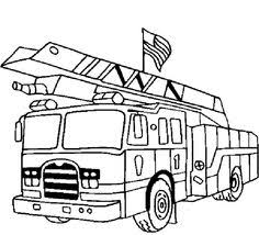 Small Picture printable trucks to color Printable Fire Truck Coloring Pages