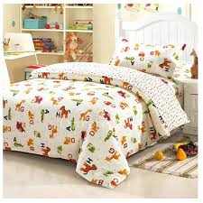 white chic animal print kids twin bedding sets white chic animal print kids twin ride em cowboy horses bedding set