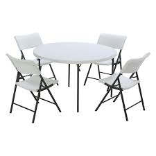 Fold In Half Round Table Similiar Round Folding Tables And Chairs Keywords