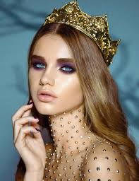 s photoshoot love this look makeup studded neck and shoulders amazing more jordan liberty makeup pretty