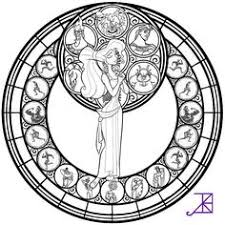 Small Picture stained glass coloring pages KH Hercules Stainedglass WIP by