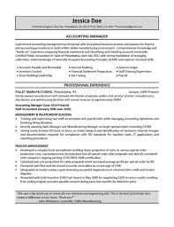 Management Accountant Resume Sample Accountant Resume Examples