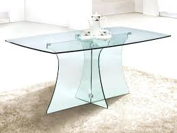rectangle glass table dining tables glass and photos com table rectangle glass table top replacement