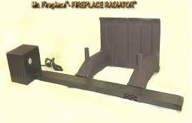 fireplace radiator heat exchanger design and ideas