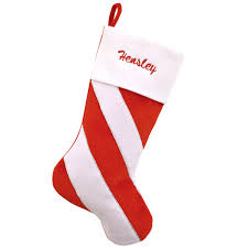From candy canes to christmas gift boxes, we've got plenty to fill your stockings this season! Personalized 20 5 Inch Stocking With Candy Cane Stripes