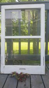 Old Window Frame Decor Old Wood Window Frame Two Pane Window Modern Farmhouse Rustic