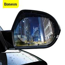 <b>Baseus</b> 2 Pcs <b>Car</b> Rearview Mirror Rainproof Film <b>0.15mm</b> Clear ...