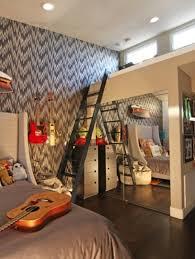 Bedroom: Inspiring Modern Bedroom Design With Music Themed - Floor Lamps