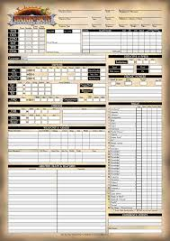 character sheet pathfinder dark sun pathfinder character sheet page 1 by antariuk on deviantart