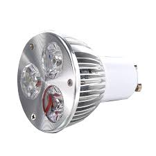 New GU10 3W 3 LED high <b>power spot</b> light bulb lamp light DC <b>12V</b> ...