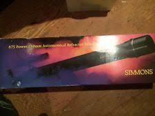 simmons telescope 6450. simmons 675 power/60mm astronomical refractor telescope model 6440 6450