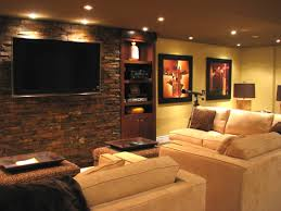 Basement ideas on pinterest Unfinished Basement Finished Basement For The Home Pinterest From Catchy Ideas For Stone Wall Dining Room Source Finished Basement For The Home Pinterest From Catchy Ideas For Stone