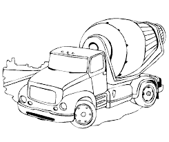 Truck Images For Coloring Clrgpages