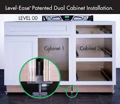 Cabinet Installation Company Dual Cabinet Leveling Installation System Woodworking Network