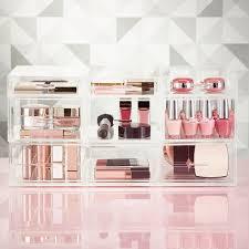 Luxe Acrylic Medium Makeup & Nail Polish Storage ...