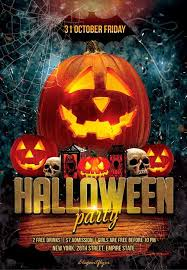 Costume Contest Flyer Template Halloween Party Free Flyer Psd Template Psd Download