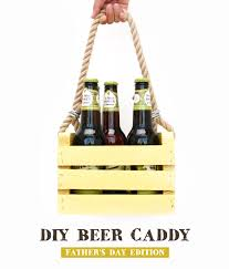 diy beer caddy for father s day