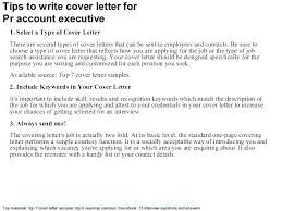 Public Relation Director Resume How To Write A Pr Cover Letter