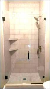 shower shelves for tile recessed shelf ceramic corner