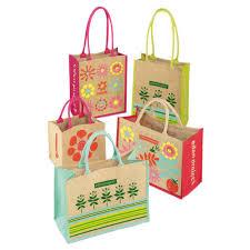return gift jute bag
