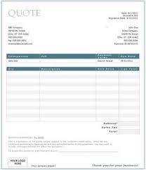 free price quote template price quotation template for word download pinterest
