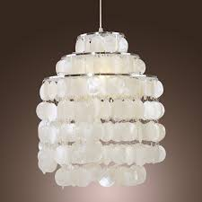 interesting capiz chandelier for your interior lighting design round capiz chandelier white west elm