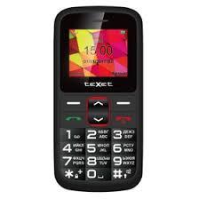 <b>Сотовый телефон Texet TM-B217</b> Black Red (2854198) - Купить ...