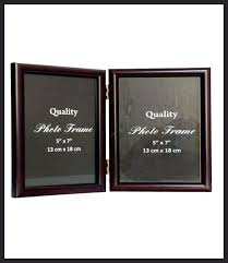 picture frame home decor double photo sided glass 8x10 link fashion vault gold star