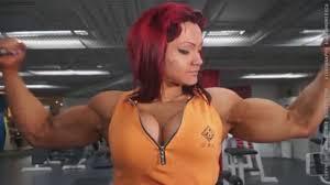Big russian woman as