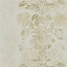 Small Picture Designers Guild Damasco Wallpaper in Gold