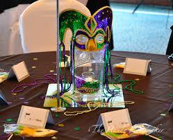 Masquerade Mask Table Decorations Mardi Gras Masquerade Party THE HANDY HOMEMAKER 22