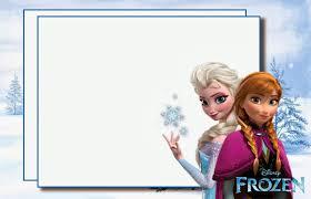 frozen birthday invitation template kids women frozen birthday invitation