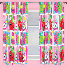 Kids Bedroom Curtains Shopkins Shopaholic Curtains Available In 54034 Amp 72034