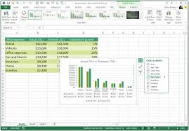 Microsoft Excel 2013 Charts Benefits Of Microsoft Excel 2013 And Some Recent Additions