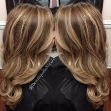 Balayage Hair Style balayage on long hair blonde highlights with curled hairstyle 7251 by wearticles.com