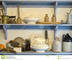 Old Fashioned Kitchen Old Fashioned Pantry Cupboard Stock Image Image 31579371