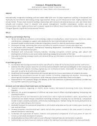 Free Property Management Resume Templates Template Manager Objective