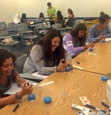careers in pharmacy summer program for high school students this month chicago college of pharmacy hosted 35 high school students for a week long careers in pharmacy program this program is in its 16th year and has