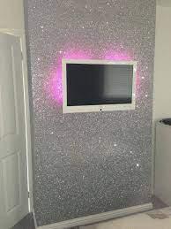 silver glitter wallpaper sent it to us