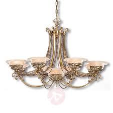 9 bulb chandelier evita in brass finish 8023143 31