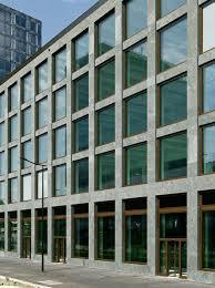 office facade. Zurich Office Block By Max Dudler Features A Gridded Granite Facade. Facade