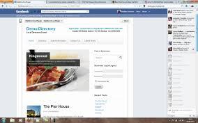 Business Directory Facebook App