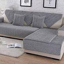 hm dx plush sofa slipcover thick