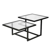 bronze glass top coffee table