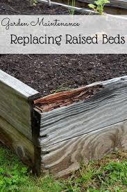 rebuilding a bed garden raised beds