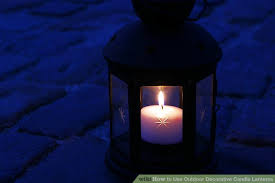 outdoor candles lanterns and lighting. Image Titled Use Outdoor Decorative Candle Lanterns Step 4 Candles And Lighting E