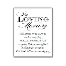 In Loving Memory Sayings And Quotes Magnificent In Loving Memory Sayings And Quotes Awesome Images Remembrance Table