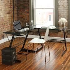 full size of desks z line belaire glass l shaped computer desk instructions no tools