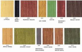 Benjamin Moore Stain Color Chart Benjamin Moore Wood Stains